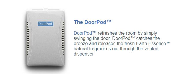 DoorPod refreshes the room by simply swinging the door!