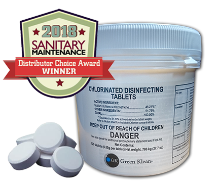CHLORINATED SANITIZING & DISINFECTING TABLETS